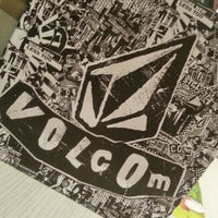 Photo taken at Volcom by  Ayie  on 9/6/2012