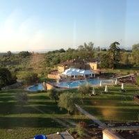 Снимок сделан в Poggio Alla Sala Resort Montepulciano пользователем Giulia C. 6/3/2012