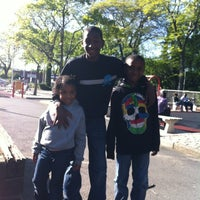 Photo taken at ELMONT by Staceyann C. on 5/11/2012