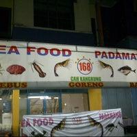 Photo taken at Rumah Makan Padamangan by Rudy N. on 1/19/2012