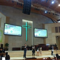 Photo taken at 동안교회 대예배실 by Jaeeun C. on 5/20/2012