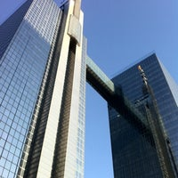 Photo taken at Proximus Towers by Etienne S. on 5/11/2011