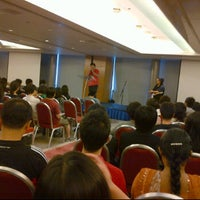 Photo taken at City Harvest Church Indonesian Service by Andy S. on 9/4/2011