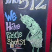 Photo taken at The 512 Bar by Scotty on 9/18/2011