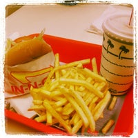 Photo taken at In-N-Out Burger by Tucker P. on 4/22/2012