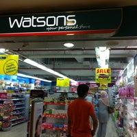 Photo taken at Watsons by khairuddin u. on 10/18/2011