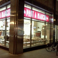 Photo taken at Pret A Manger by Wilfred T. on 10/11/2011