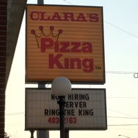Photo taken at Clara's Pizza King by Paul V. on 3/23/2012