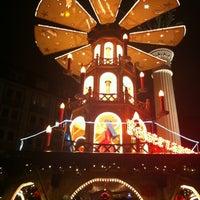 Photo taken at Leipziger Weihnachtsmarkt by Christian B. on 12/21/2011