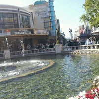 Photo taken at The Grove Water Fountain by Rae M. on 1/17/2012