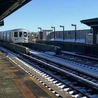 Photo taken at MTA Subway - 111th St/Greenwood Ave (A) by Jagjit S. on 1/13/2011