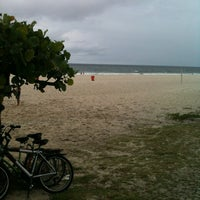 Photo taken at Estatua Pelada do Barra Beach by diego i. on 4/22/2012