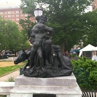Photo taken at War Statue by Pam M. on 5/4/2012