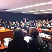 Photo taken at Câmara dos Deputados - Anexo III by Junior G. on 7/13/2011