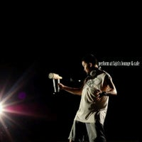 Photo taken at Fajri's Lounge & Cafe by Arif H. on 12/28/2011