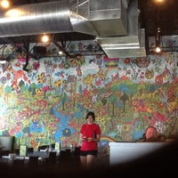 Photo taken at Mellow Mushroom by K H. on 6/27/2012