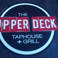 Photo taken at The Upper Deck TapHouse + Grill by Crystal H. on 9/3/2012
