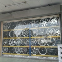 Photo taken at SKM Tyres & Services by .•*'*• Chloe •*'*•. on 7/26/2012