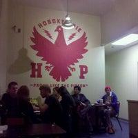 Photo taken at Hoboken Pie by David D. on 1/29/2011