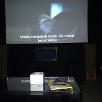 Photo taken at Mini Bioskop Tirta Kencana by Iv on 8/3/2012