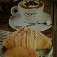 Photo taken at Fran's Café by Elber M. on 10/22/2011