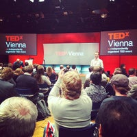 Photo taken at TEDxVienna by Lukas H. on 10/22/2011
