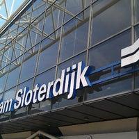 Photo taken at Amsterdam Sloterdijk Station by Emiel H. on 9/27/2011