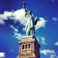 Photo taken at Liberty Island by Constance C. on 5/1/2012