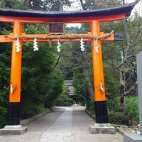 Photo taken at Ujigami Shrine by ko-ji s. on 10/11/2011