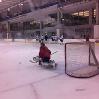 Photo taken at Kettler Capitals Iceplex by Christian B. on 4/6/2012