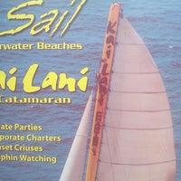 Photo taken at Kai lani Catamaran by Andrew N. on 9/11/2012