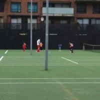 Photo taken at Tennis Op Kop Van Zuid Tokvz by marieke k. on 3/29/2012