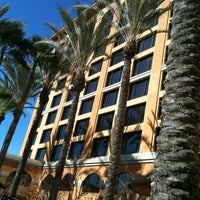 Photo taken at Crowne Plaza Anaheim Resort by Amy G. on 2/4/2012