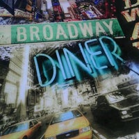 Photo taken at Broadway Diner by Jen B. on 12/10/2011