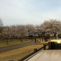Photo taken at 常願寺川公園 by Stepy_stepie on 4/15/2012