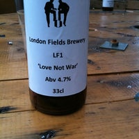 Photo taken at London Fields Brewery by David S. on 8/29/2011