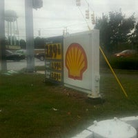 Photo taken at Shell by Kris M. on 9/7/2011