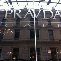 Photo taken at Pravda Café by Barbara T. on 3/11/2011