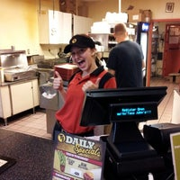 Photo taken at Taco John's by Joel M. on 9/1/2012