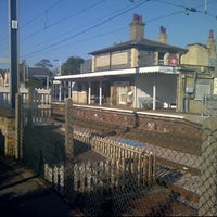 Photo taken at Shelford Railway Station (SED) by Richard P. on 9/30/2011