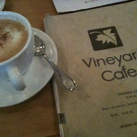 Photo taken at Vineyard Cafe by Janette L. on 10/23/2011