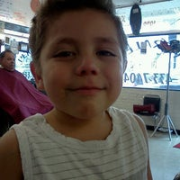 Photo taken at perales barber Shop by Lynn A. on 5/1/2012
