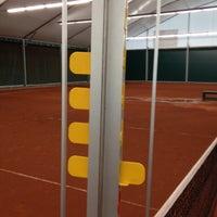 Photo taken at TCM   Tennisclub Merelbeke by Tim v. on 6/7/2012
