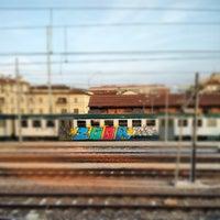 Photo taken at Stazione di Mantova by Simon L. on 8/13/2012