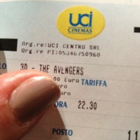 Photo taken at UCI Cinemas by Eleonora C. on 4/24/2012