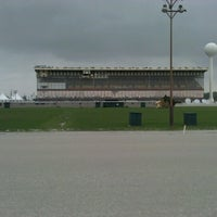 Photo taken at Maywood Park Racetrack by Albert K. on 8/16/2012