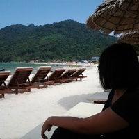 Photo taken at Bubu Long Beach Resort by sofea e. on 5/20/2012
