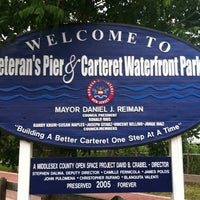 Photo taken at Carteret Waterfront Park by Judy H. on 6/5/2011