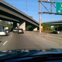 Photo taken at Eugene A. Obregon Memorial Interchange (I-5/I-10/CA-60/US-101) by Joe C. on 10/10/2011