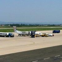 Photo taken at Zagreb International Airport (ZAG) by Niksa G. on 7/4/2012